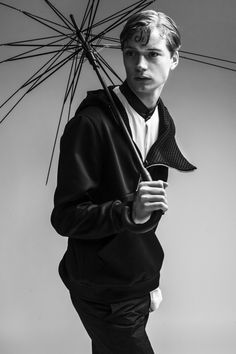Linus Gustin by Marcello Arena for CHASSEUR MAGAZINE