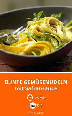 Bunte Gemüsenudeln - lecker und vegan. So einfach gelingt dieses Rezept.