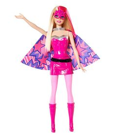 Loving this Barbie Princess Power Super Hero Doll on #zulily! #zulilyfinds