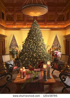 stock-photo-christmas-scene-with-elegant-interior-120458785.jpg (338×470)