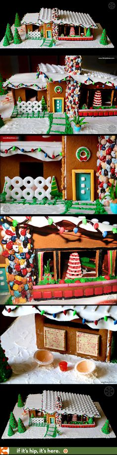 1st place winner in the 2016 MCM Gingerbread House Competition. More at the link.
