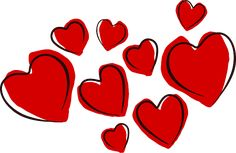 Free valentine clip art images to help you with your Valentine's Day projects. The free valentine clip art here includes hearts, flowers, and cupids. Free Valentine Clip Art, Images For Valentines Day, Happy Valentines Day, Valentine Day Gifts, Valentine Jokes, Valentine Hearts, Valentine Ideas, Calendrier Diy, Heart Clip Art