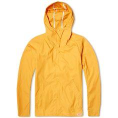 Arpenteur Short Mevi Jacket (Orange Sail Gabardine)