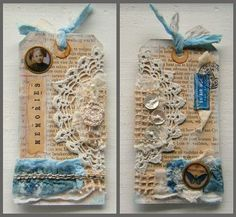 https://flic.kr/p/8QKeoj | Vintage Tag | Back and Front
