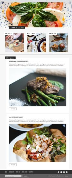The Food Feed Website Template