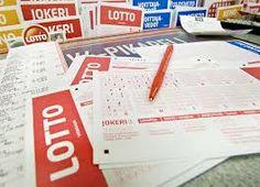 lotto, keno, wiking lotto, eurolotto, jokeri ja mitä niitä onkaan