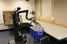 Teaching robots to understand their world through basic motor skills