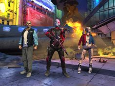 Suicide Squad free apps android Suicide Squad : Join the Squad! In this official Suicide Squad film game, you have been selected to lead a special task Joker Injustice 2, Jared Leto, Android, Free Action Games, Dc Comics, Game Mobile, Science And Technology News, Film Games, Ios