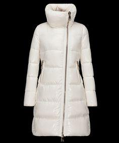 Nouveau Manteau Moncler JOINVILLE veste longue femme imperméable col bla pas chere