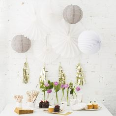 11 Essentials for the Sweetest Baby Shower Dessert Table | Brit + Co