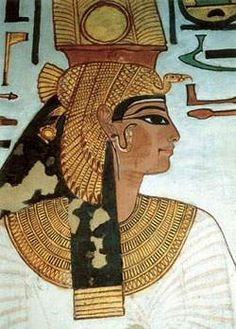 Ancient Egyptian wall painting - portrait of Nefertari - ancient beauty wife of Rameses the great Ancient Egyptian Art, Ancient Aliens, Ancient History, Art History, Ancient Beauty, Egyptian Party, Art Ancien, Art Antique, Egypt Art