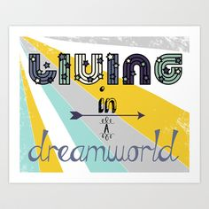 Dreamworld Art Print by maybesparrowphotography