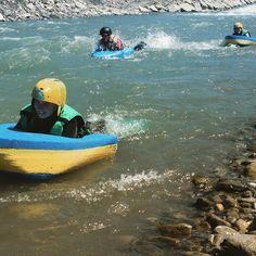 Aujourd'hui ça navigue sur le Drac en nage en eau vive #eauvive #EVP