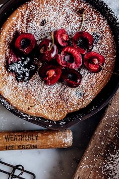 Cherry And Elderberry Clafoutis - Christiann Koepke Gorgeous Cakes, Pretty Cakes, Summer Desserts, Fun Desserts, Best Dessert Recipes, Cake Recipes, Cake Photography, Baked Chicken Recipes, Cooking Time