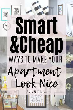 Smart and Cheap Ways to Make Your Apartment Look Nice. Apartment decorating | Apartment decorating on a budget | Apartment ideas | Apartment decor Apartment decorating rental | Apartment decorating college | Apartment decorating living room | Rental decorating | Rental decorating on a budget | Rental decorating temporary | Rental decorating house | Rental decorating apartment | Rental decor | Rental decor on a budget | Rental decorating temporary #apartmentdecor#rentaldecor