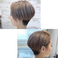 いいね!75件、コメント2件 ― Coast.溝口優人/ショート/ベリーショート/ボブ/福岡さん(@coast_hair)のInstagramアカウント: 「. かりあげベリーショートでメリハリのあるスタイルに👍 . ヘアスタイルははシルエット💇 . 【スタッフ募集中】 . #ベリーショート #ショートヘア…」 Bob Hairstyles, Pixie, Style Me, Short Hair Styles, Hair Cuts, Hair Color, Hair Beauty, Lady, Colourful Hair