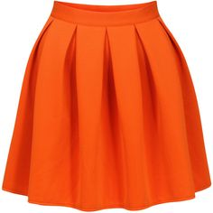 Nostalgia Orange Circle Mini Skirt ❤ liked on Polyvore featuring skirts, mini skirts, bottoms, orange, faldas, saias, orange mini skirt, mini circle skirt, circle skirt and short circle skirt