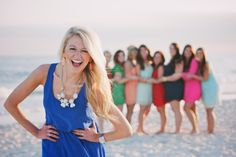 Gulf Shores Bachelorette Party Beach Portraits Bridesmaids Photography Wedding Party Girls Weekend Photographer