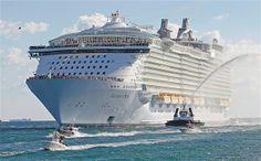 Kapal pesiar terbesar
