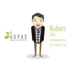 Rubén - CEO Hayas Agencia de Marketing #equipo #hayas #madrid