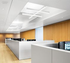 James Turrell Enlivens NYC Office by Lee Mindel and A+I | Projects | Interior Design