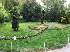 montreal botanical gardens mosaic giants   Mosaicultures Montreal 2013 - a gallery on Flickr