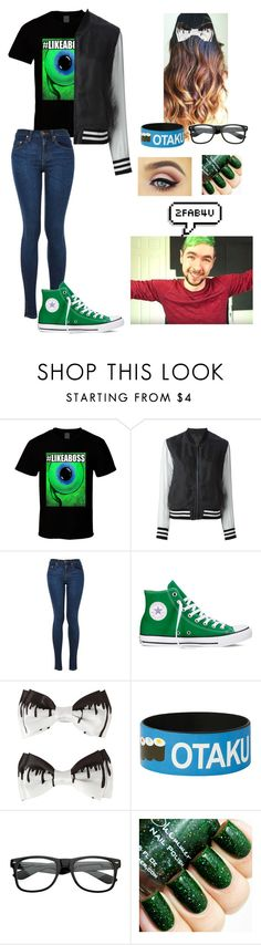 """""""Making a video with Jacksepticeye"""" by parsonalexia ❤ liked on Polyvore featuring Avelon, Converse and Jacksepticeye"""
