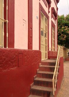 Fachada antigua de Asunción-Paraguay