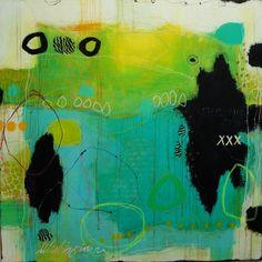 Janne Jacobsen, gallerijacobs.dk 100x100 cm