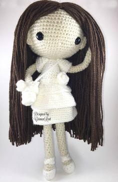 Maria Amigurumi Doll Crochet Pattern by CarmenRent
