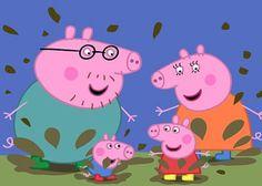 Peppa Pig Full Episodes New Season Best Cartoon Movies Ever 2015 Peppa Pig Cartoon, Cartoon Kids, Pep Pig, Peppa Pig Familie, Familia Peppa Pig, Laughing Images, Cake Templates, Pig Illustration, Felt Quiet Books