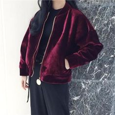JACKET WARM VELVET AUTUMN 2017 #grunge #apparel #store #cute #korean #style #FreeShipping #Worldwide #print #ulzzang #southkorean #koreanfashion #fashion #trendy #kawaii #harajuku #aesthetic #aesthetics #japanese #tumblr #clothing #outfit #white #JACKET #WARM #VELVET #AUTUMN2017