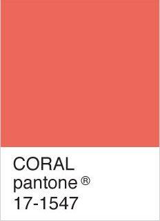 coral pantone | Pantone 17-1547