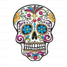 Halloween Sugar Skull Day Of The Dead Edible Frosting Sheet Cake Cupcake Topper Baking Supplies Jenu