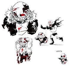 horror sans swap papyrus x fell sans swap sans, fell sans fell sans… Undertale Ships, Undertale Fanart, Undertale Comic, Creepy, Scary, Horror Sans, Disney Games, Underswap, Yandere Simulator
