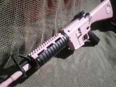 im sure the wife will want this Hello Kitty M4 carbine