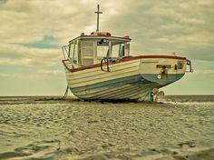 Low tide, Meols beach