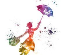 Tinker Bell Fata illustrazione di stampa artistica di SubjectArt