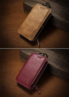 ✅Enjoy the convenience & space-saving power with our Full Protective Shock-Proof Scratch-Resistant Anti-Skid & Dirt-resistant Phone case. Iphone Leather Case, Iphone Wallet Case, Leather Wallet, Iphone Cases, Best Iphone, Iphone 11, Couple Cases, 4 In 1, Iphone Models