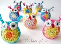 Easy Crochet Owls / The Whoot