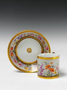 Tea Cup Set, My Cup Of Tea, Cup And Saucer Set, Tea Cup Saucer, Antique Tea Cups, China Cups And Saucers, Fun Cup, China Painting, Antique China