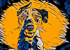 Popart Dog