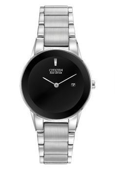 Citizen Eco-Drive Women's Axiom Black Dial Watch