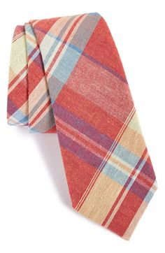 Free shipping and returns on ALEXANDER OLCH Plaid Cotton Tie at Nordstrom.com. Bright preppy colors enliven an eye-catching plaid tie woven from pure cotton.