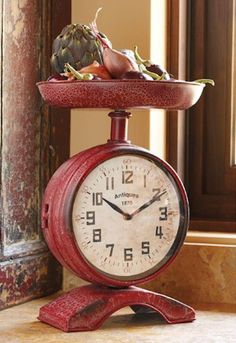 Настенные часы на кухню - 40 фото идей http://happymodern.ru/chasy-v-kuxne-40-foto-idej/ 28