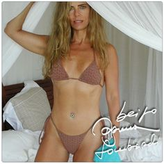 bruna lombardi - and she is 62 years old!