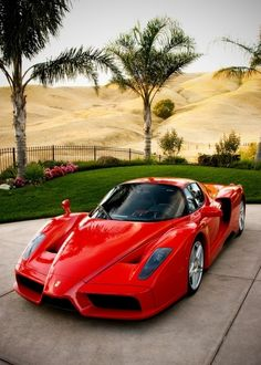 Old School Red Ferrari