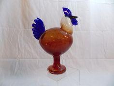 2014, Oiva Toikka, Bird Lovers' Weekend, Museum of Glass, Tacoma, WA, Rooster Glass Museum, Glass Birds, Hurricane Glass, Lakes, Rooster, Shelf, Design, Glass Art, Scandinavian