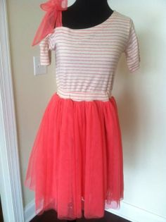 Tees and tulle dresses