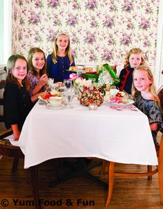 Teach your children the importance of giving to charity and proper etiquette with a holiday tea party.